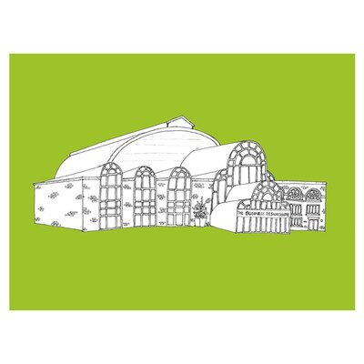 East End Prints Business Design Centre by Hannah Stoney Graphic Art