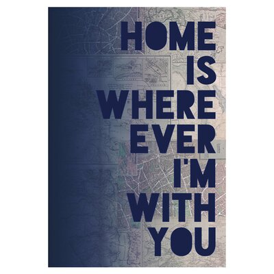East End Prints I'm With You by Leah Flores Wall Art