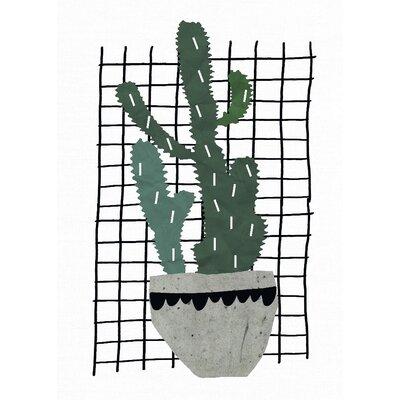 East End Prints Cactus Graphic Art