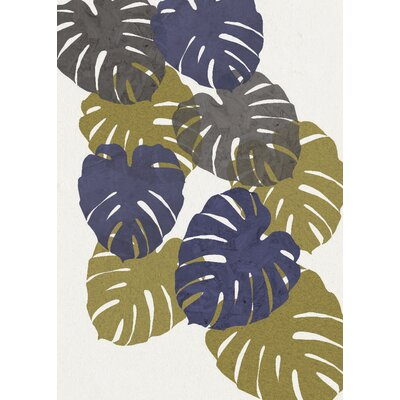East End Prints Monstera Collage Graphic Art