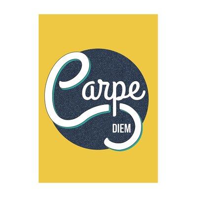 East End Prints Carpe Diem Typography