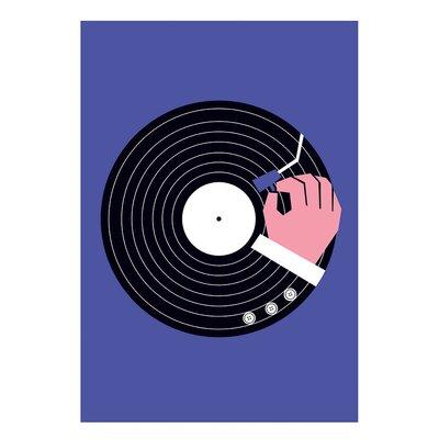 East End Prints Vinyl Purple Graphic Art