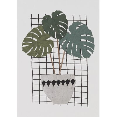East End Prints Monstera Graphic Art