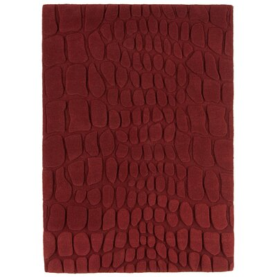 Asiatic Carpets Ltd. Croc Hand-Woven Red Area Rug