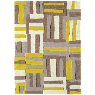 Asiatic Carpets Ltd. Matrix Hand-Woven Yellow/Brown Area Rug