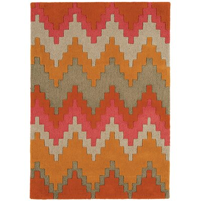 Asiatic Carpets Ltd. Matrix Hand-Woven Sienna Area Rug