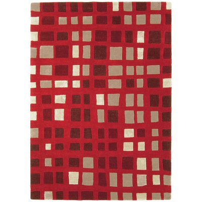 Asiatic Carpets Ltd. Matrix Hand-Woven Red Area Rug