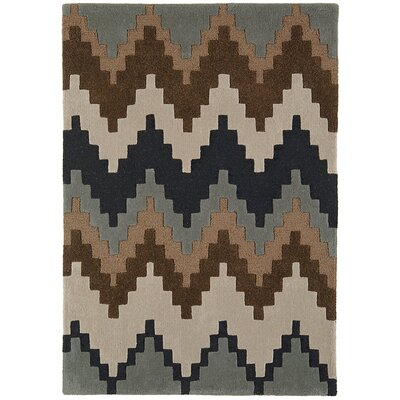 Asiatic Carpets Ltd. Matrix Hand-Woven Chocolate Area Rug