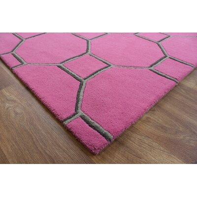 Asiatic Carpets Ltd. Matrix Hand-Woven Pink Area Rug