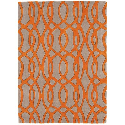 Asiatic Carpets Ltd. Matrix Hand-Woven Orange Area Rug