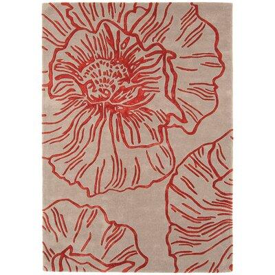 Asiatic Carpets Ltd. Matrix Hand-Woven Beige/Red Area Rug