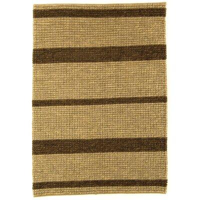 Asiatic Carpets Ltd. Jute Loop Hand-Woven Natural Brown Area Rug