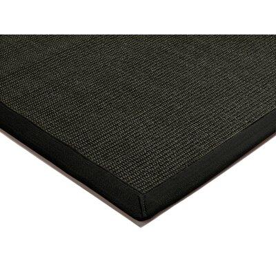 Asiatic Carpets Ltd. Bordered Sisal Black Area Rug