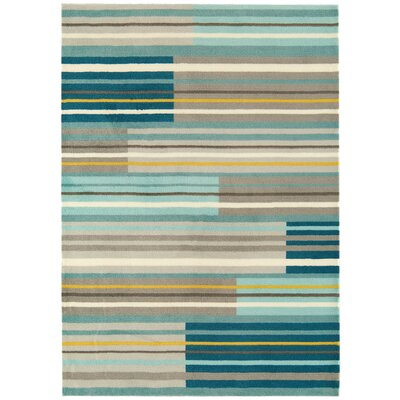 Asiatic Carpets Ltd. Boca Hand-Woven Aquamarine Area Rug