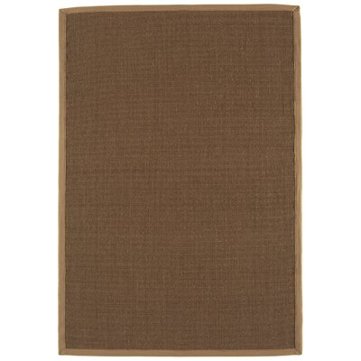 Asiatic Carpets Ltd. Bordered Sisal Mocca/Taupe Area Rug
