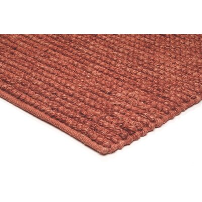 Asiatic Carpets Ltd. Jute Loop Hand-Woven Red Rug