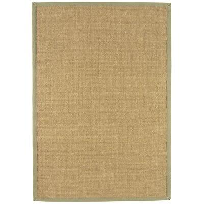 Asiatic Carpets Ltd. Bordered Sisal Linen/Sage Area Rug