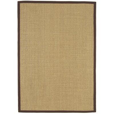 Asiatic Carpets Ltd. Bordered Sisal Chocolate Area Rug