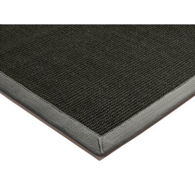 Asiatic Carpets Ltd. Bordered Sisal Black and Grey Area Rug
