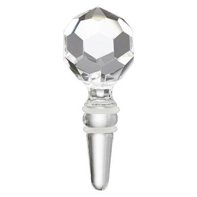 Mercer Prismatic Ball Glass Bottle Stopper