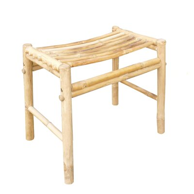 Psimolofou Bamboo Hand Crafted Accent Stool