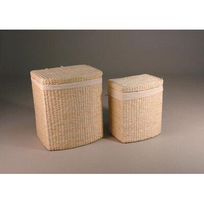 Hansen Rattan Washing Basket Set