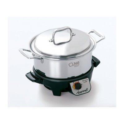 Gourmet Slow Cooker Capacity: 4-Qt.