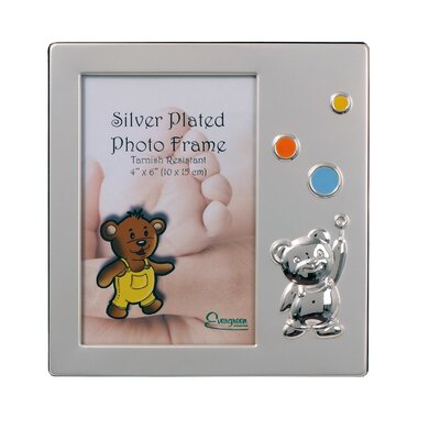 Evergreen Bubbles Baby Picture Frame