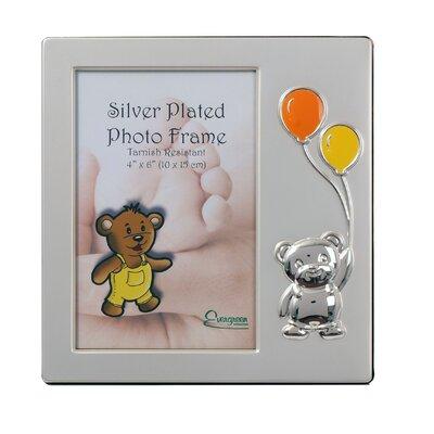 Evergreen Balloon Enamel Baby Picture Frame
