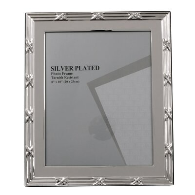 Evergreen Ribbon and Reed Photo Frame