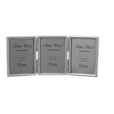 Evergreen Thin Edge Triple Photo Frame