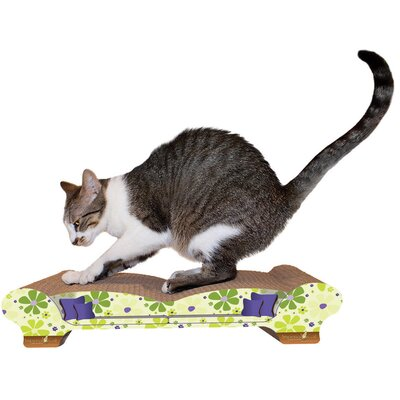Imperial Cat Scratch 'n Shapes Love Seat Recycled Paper Scratching Board