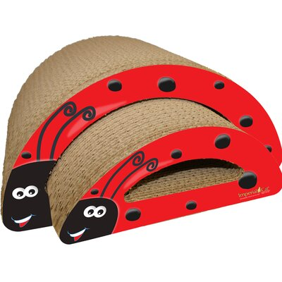 Scratch 'n Shapes 2 Piece Lady Bug Recycled paper Scratching Board