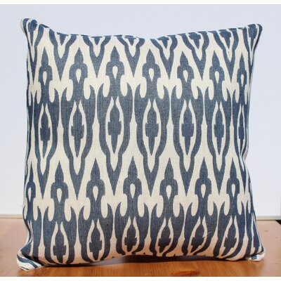 Auburn Textile Jute Printed Accent Throw Pillow