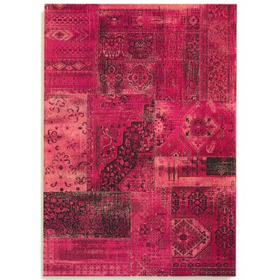 Barefoot Artsilk Rugs Patchwork Pink Area Rug