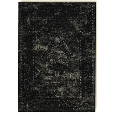 Barefoot Artsilk Rugs Persian Antika Black Area Rug