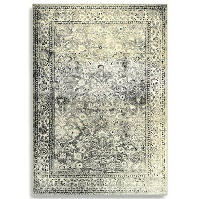 Barefoot Artsilk Rugs Afghan Silver/Grey Area Rug