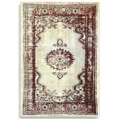 Barefoot Artsilk Rugs Persian Burgundy Area Rug