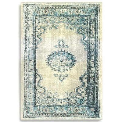 Barefoot Artsilk Rugs Persian Duck Egg Area Rug