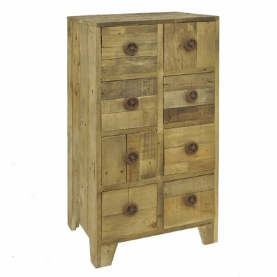 Bellmore 8 Drawer Accent Chest