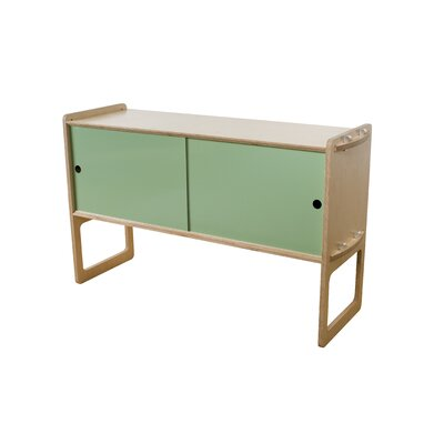 Key Accent Cabinet Finish: Maple, Color: Sage Green