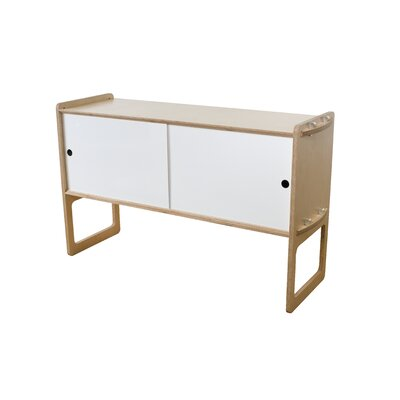 Key Accent Cabinet Finish: Maple, Color: White