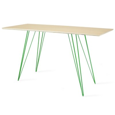 Williams Writing Desk Color: Green