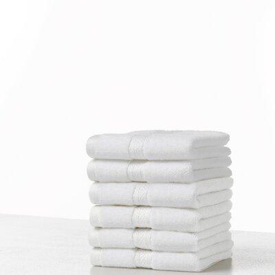 Suites 100% Cotton Washcloth Color: Optical White