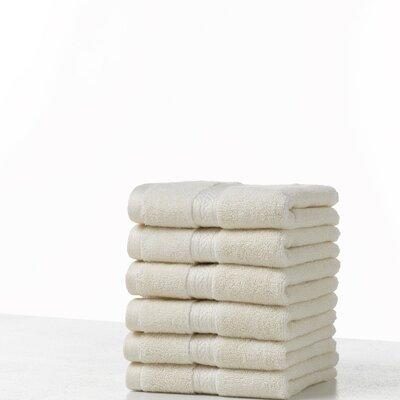 Suites 100% Cotton Washcloth Color: Ecru
