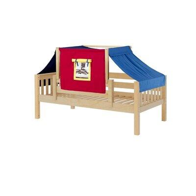 Toddler Bed Bed Frame Color: Natural