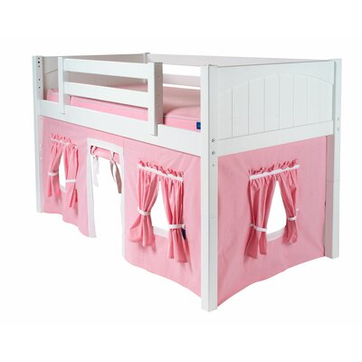 Twin Playhouse Color: Pink & White, Additional Side Panel: No