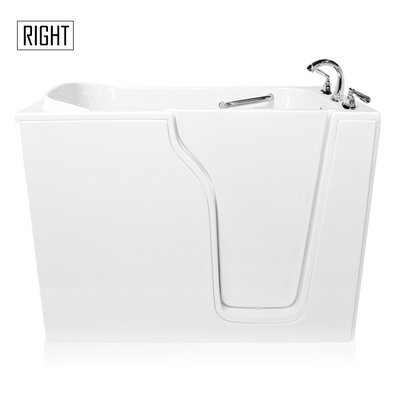 "55"" x 35"" Whirlpool Bathtub"