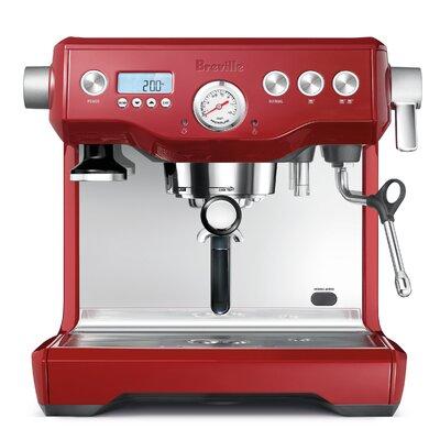 Dual Boiler Espresso Machine Color: Cranberry Red