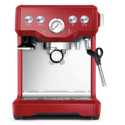 Infuser Espresso Machine Color: Cranberry Red